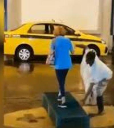 Giovanna Antonelli compartilha post sobre enchente no Rio e atrizes apontam racismo