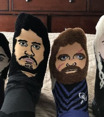 Essas meias de 'Game Of Thrones' são perfeitas para acompanhar o grand finale da série