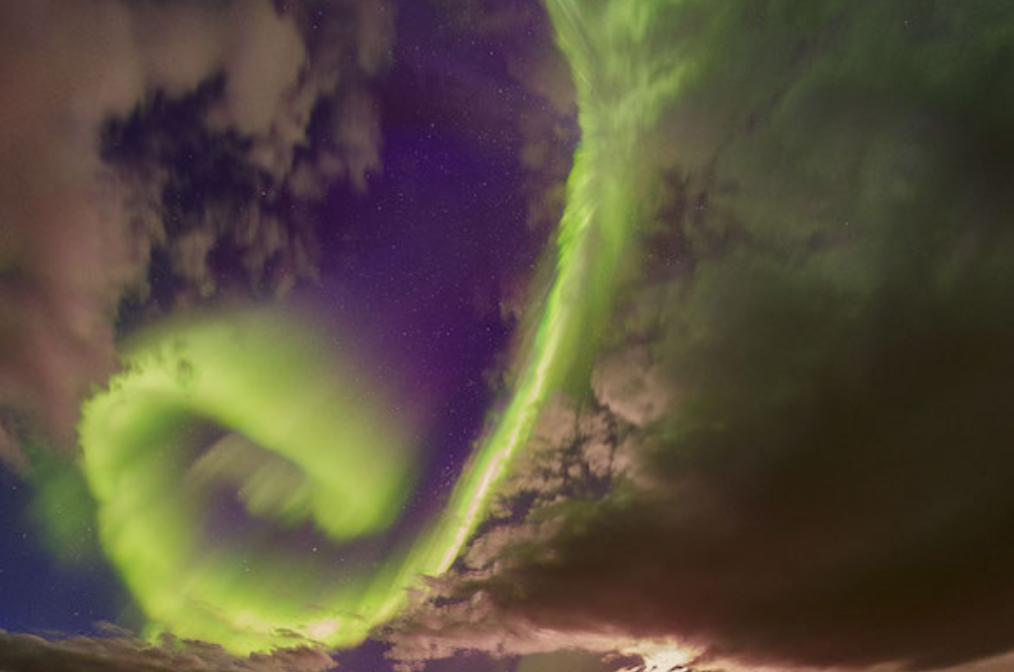 NASA aurora boreal 1