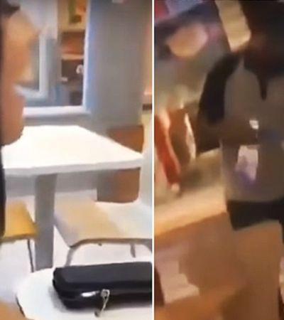 Jovens humilham funcionário do Bob's, postam nos stories e são acusadas de racismo