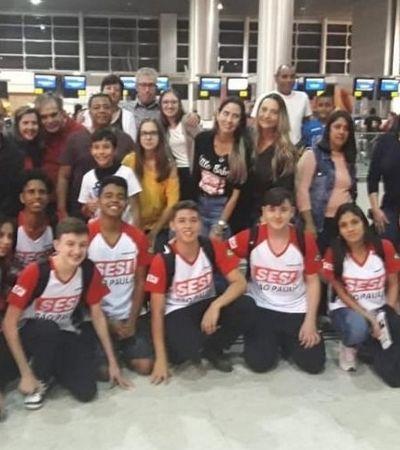 Estudantes brasileiros conquistam primeiro lugar em campeonato de robótica nos EUA