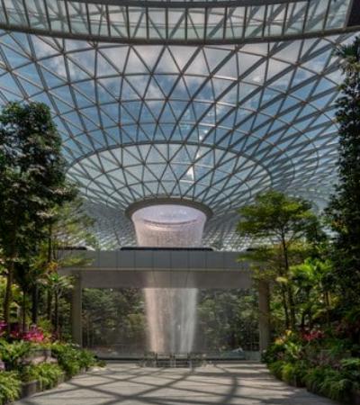 Singapura investe mais de U$ 1 bi para construir jardim botânico em aeroporto