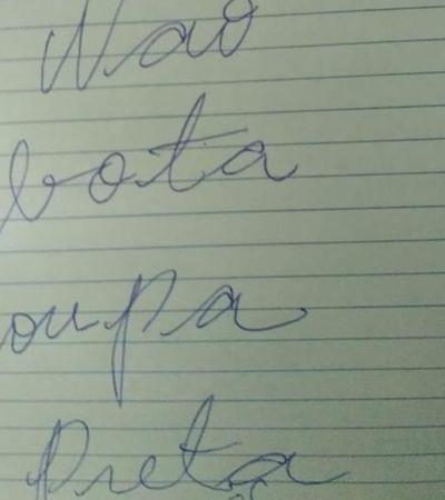 Este bilhete de uma mãe preocupada expõe a dura realidade do racismo no Brasil