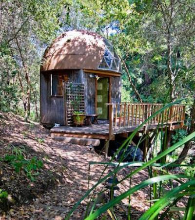 Esta cabana na floresta é a casa mais popular do Airbnb em todo mundo