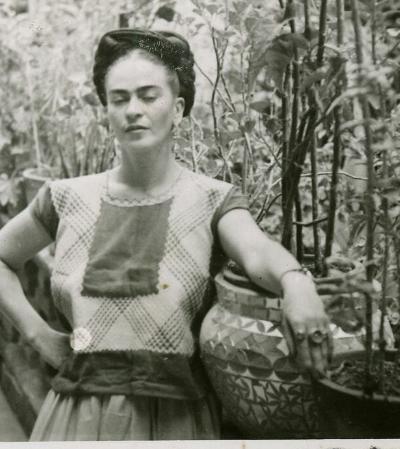 Jardim que era xodó de Frida Kahlo é destaque em museu 60 anos após sua morte