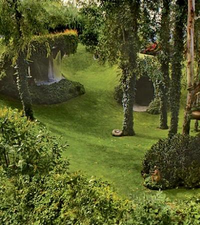 Conheça a Casa Hobbit quase invisível e perfeitamente integrada à natureza