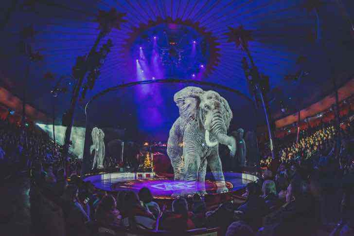 circo alemanha holograma 3