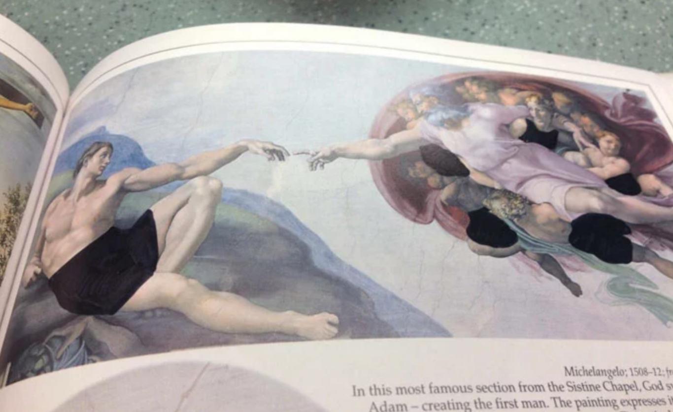 colégio cristão censura livro 10
