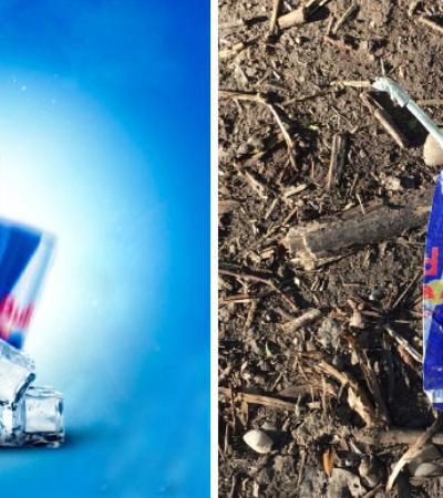 Antes e depois lembra o destino das embalagens 'lindonas' que você vê nas prateleiras