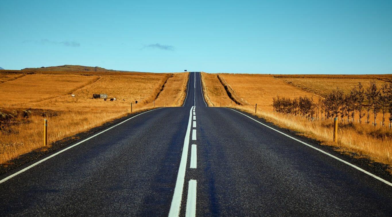 estrada asfalto plástico 2