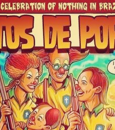 Ratos de Porão, Francisco El Hombre e outras bandas criam versões do pôster do Dead Kennedys