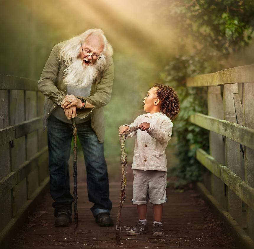 fotografia avós e netos 10
