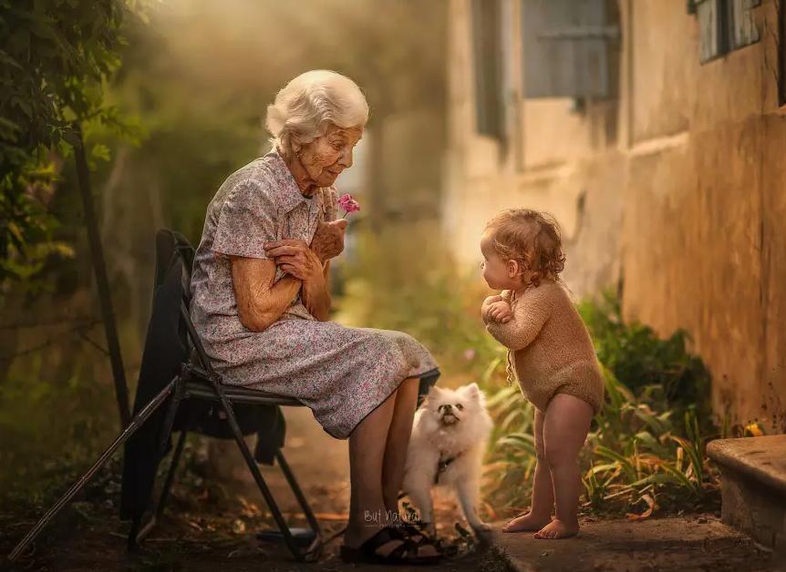 fotografia avós e netos 11