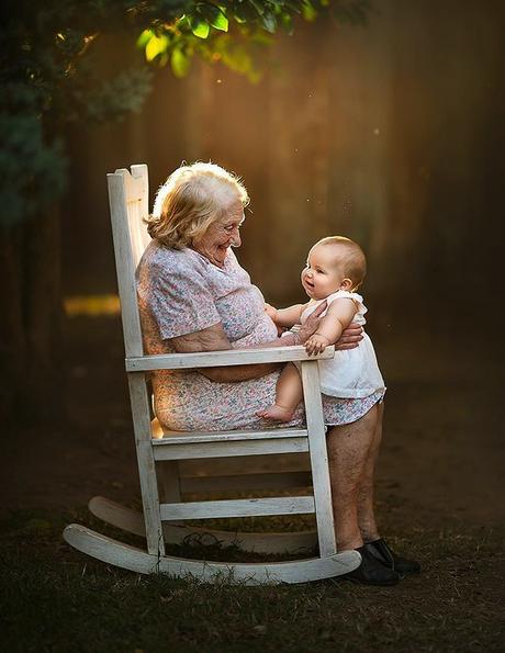 fotografia avós e netos 2