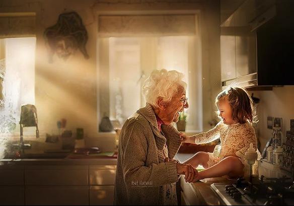fotografia avós e netos 3