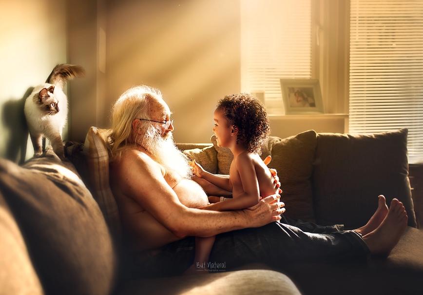 fotografia avós e netos 5