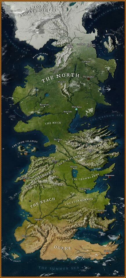 mapa westeros google maps 1