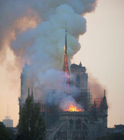 Franceses doam R$ 2,6 bilhões à Notre Dame. Brasileiros doaram R$ 15 mil ao Museu Nacional