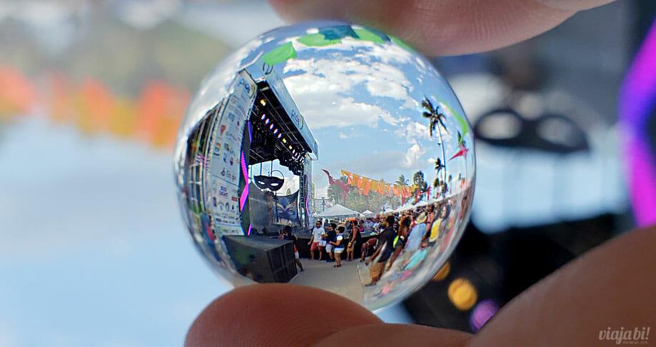 Pride Festival na praia, em Greater Fort Lauderdale - Foto: Rafael Leick / Viaja Bi!