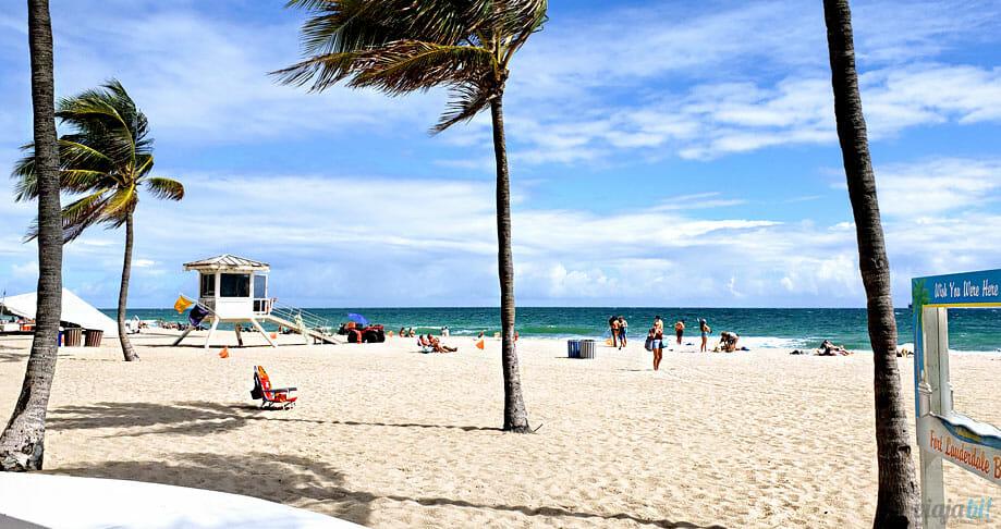 Praia de Fort Lauderdale Beach - Foto: Rafael Leick / Viaja Bi!
