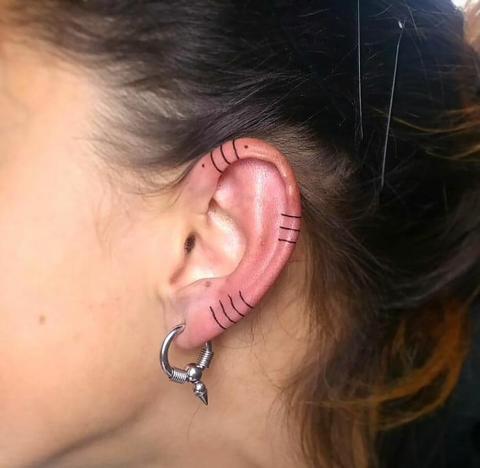 tatuagem de orelha 12