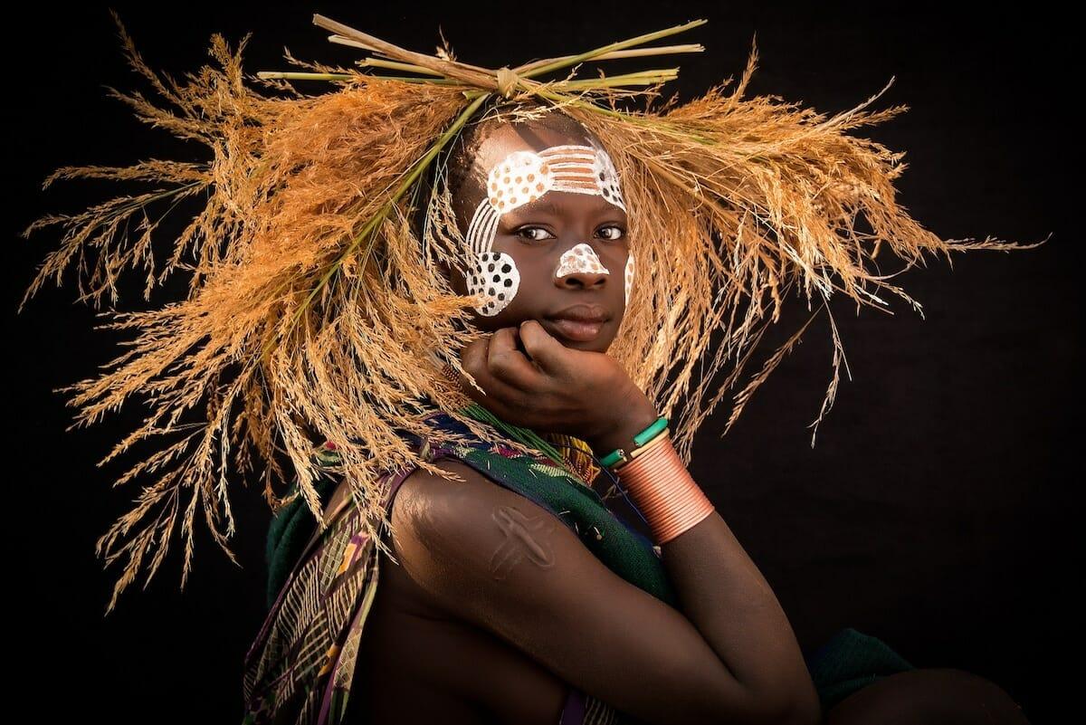 tribo suri etiópia 1