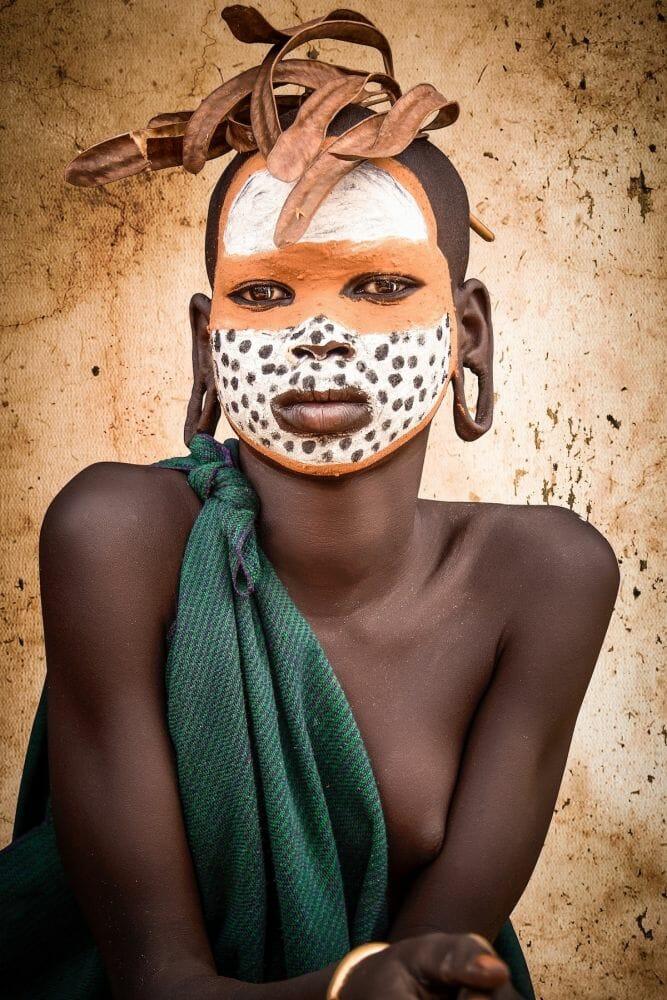 tribo suri etiópia 10
