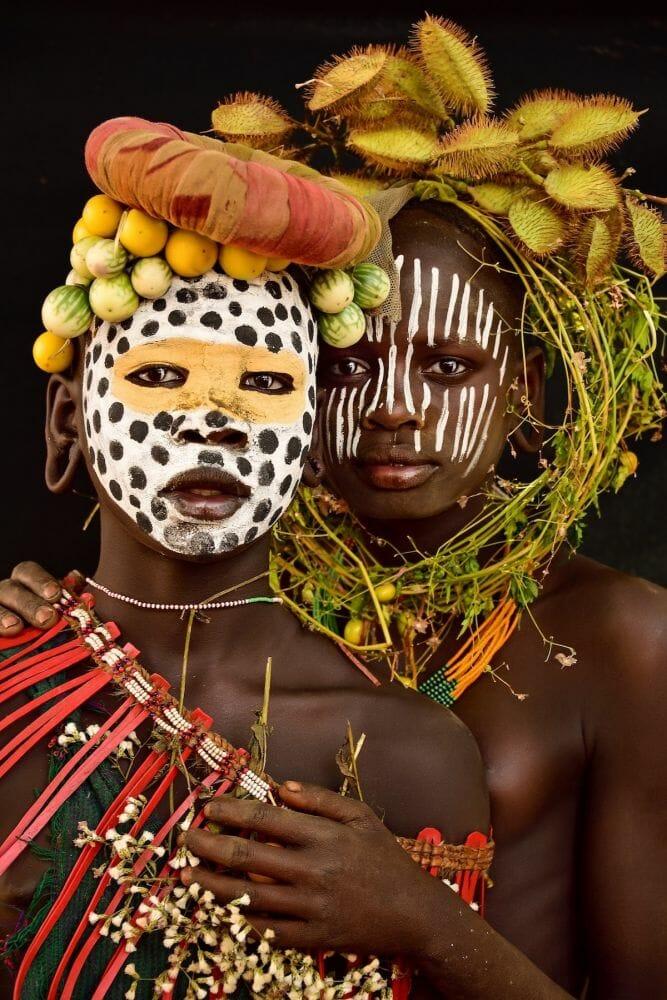 tribo suri etiópia 3
