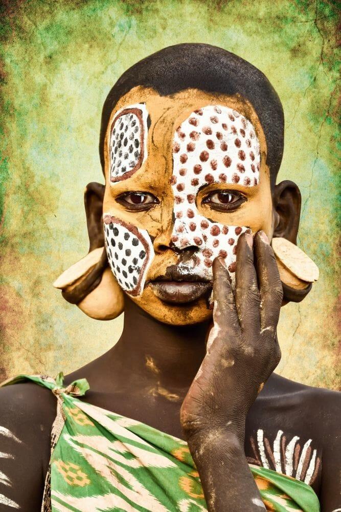 tribo suri etiópia 9