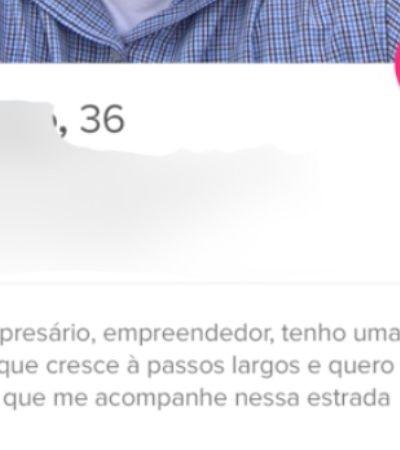 Empreendedor brasileiro anuncia 'vaga' de namorada e trabalho no Tinder com salário de R$ 1,2 mil