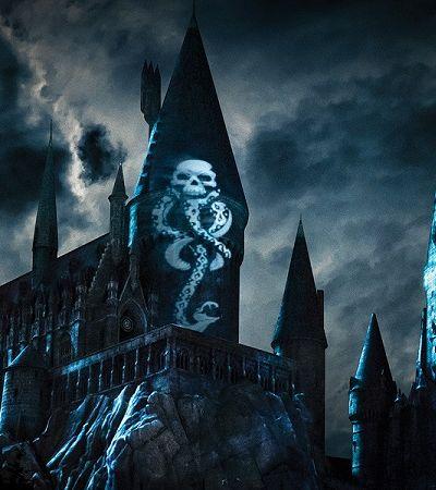 Voldemort é atração de novo show noturno do Castelo de Hogwarts, na Universal