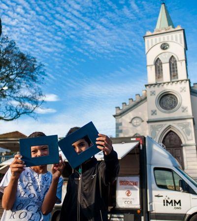 Projeto percorre 20 mil km para alunos da rede pública fotografarem o Brasil real