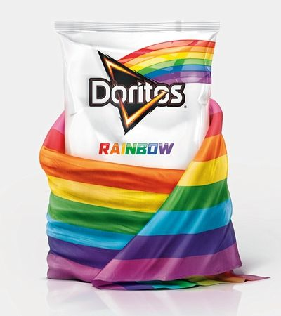 Doritos Rainbow é o snack oficial do Rock in Rio. E vai reverter ganhos à ONGs LGBT+