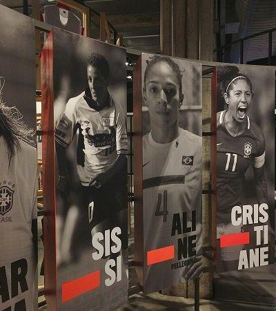 Contra-ataque: exposição conta história do futebol feminino no Museu do Futebol