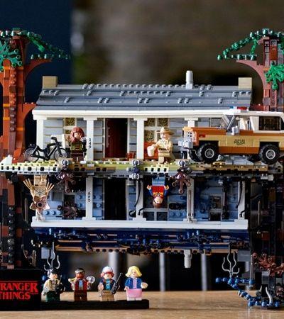 Com 2.287 peças, Lego recria o Mundo Invertido de 'Stranger Things'