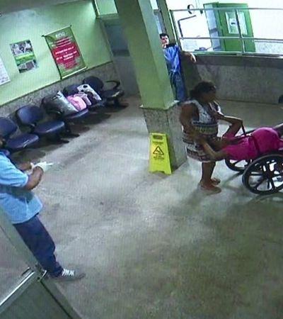 Médico é flagrado filmando mulher dando à luz em cadeira de hospital