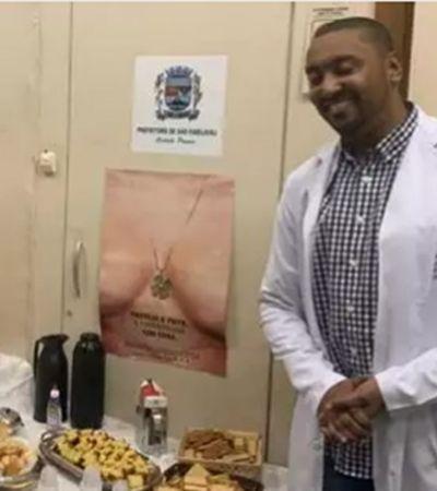 Médico do SUS quebra a internet com café da manhã aos pacientes com fome
