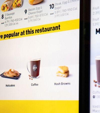 McDonald's estuda inteligência artificial capaz de prever seus pedidos