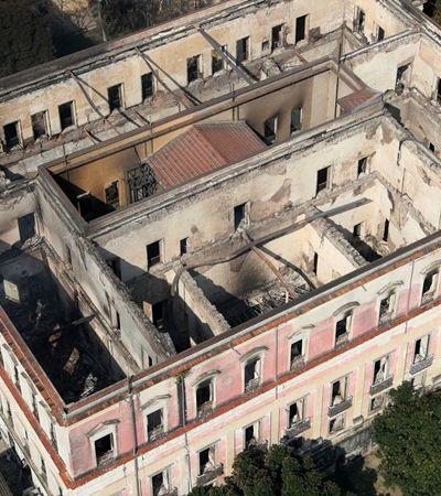 Após incêndio, governo Bolsonaro corta R$ 12 milhões do Museu Nacional