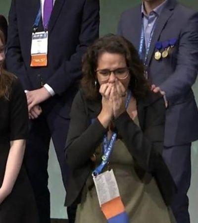 Brasileira vence concurso mundial de jovens cientistas. E vai virar nome de asteroide