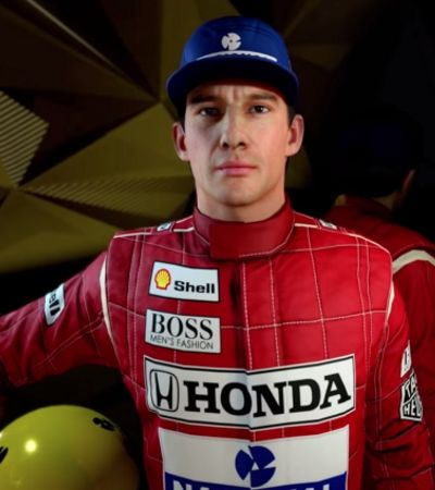 Novo game da F1 terá Ayrton Senna. E o 'racha' com Prost está garantido