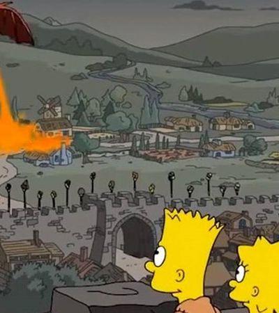 Os Simpsons podem ter previsto os últimos capítulos de Game of Thrones