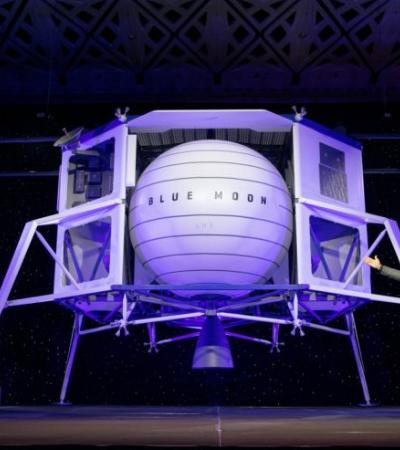 Desta vez, para ficar: Criador da Amazon quer nos enviar para a lua