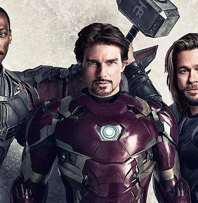 Imaginaram como seria se 'Vingadores' tivesse sido filmado nos anos 1990