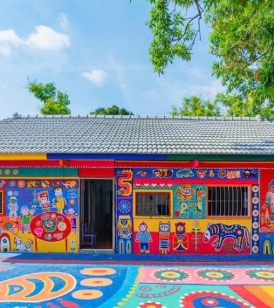 A história inspiradora do avô que pintou sua aldeia inteira para impedir que ela fosse derrubada