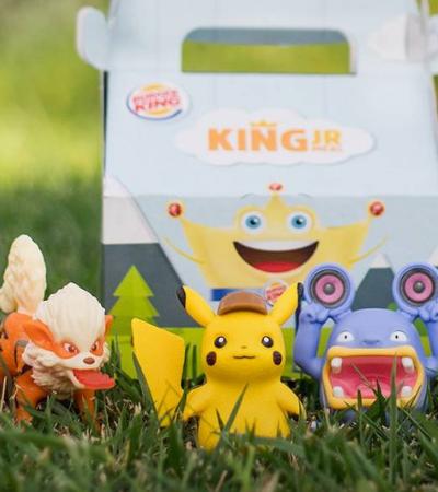 Pokémon: Burger King lança combo com brinquedos de 'Detetive Pikachu'
