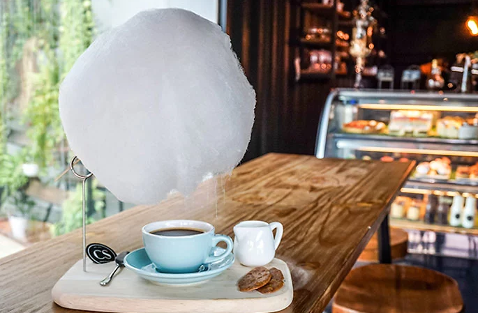 café nuvem algodão doce 1