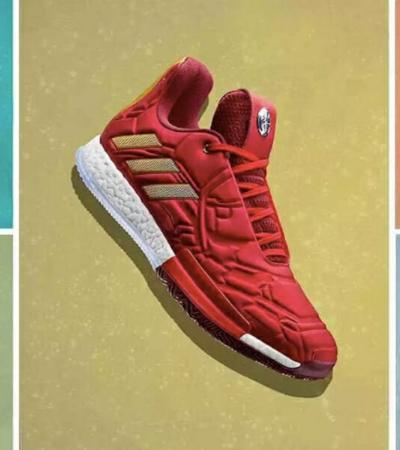 Adidas cria coleção especial inspirada nos Vingadores para deixar os heróis aos seus pés