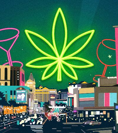 Las Vegas copia Amsterdã e terá espaços para quem quer fumar maconha legalizada