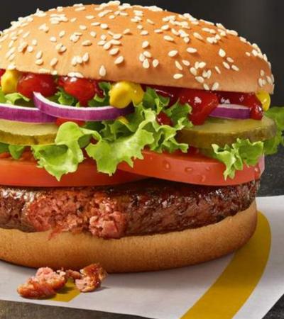 McDonald's cria o Big Vegan. E ele ainda é mais barato que os lanches com carne